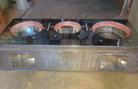 complete combustion 2+ 1 Fixed domestic Stove